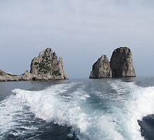 The Faraglioni Rocks by jules572