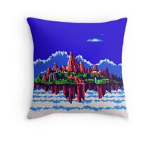 Floating Island (Angel Island) sonic 3+K Throw Pillow