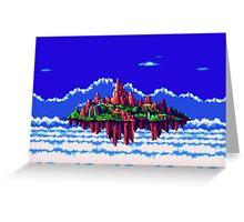 Floating Island (Angel Island) sonic 3+K Greeting Card