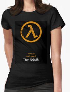 Half-Life Lambda Poster - Flat Womens Fitted T-Shirt