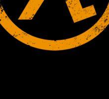 Half-Life Lambda Poster - Flat Sticker