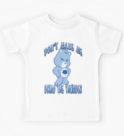 Grumpy Care Bear - Bring the Thunder Kids Tee