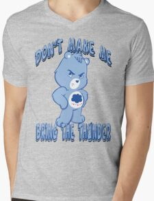 Grumpy Care Bear - Bring the Thunder Mens V-Neck T-Shirt