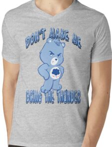 Grumpy Care Bear - Bring the Thunder Mens V-Neck T-Shirt