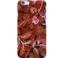 shrubbery iPhone Case/Skin