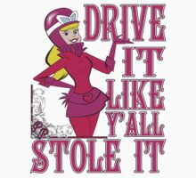 Penelope Pitstop - Drive It Like Y'all Stole It -  by G. Patrick Colvin