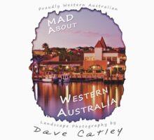 Dave Catley Landscape Photographer - Fine Art T-Shirt (Mindarie Marina) Kids Tee