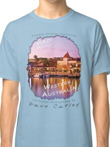 Dave Catley Landscape Photographer - Fine Art T-Shirt (Mindarie Marina) Classic T-Shirt