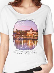 Dave Catley Landscape Photographer - Fine Art T-Shirt (Mindarie Marina) Women's Relaxed Fit T-Shirt