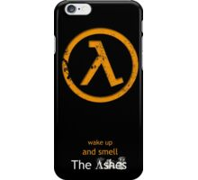 Half-Life Lambda Poster - Raised iPhone Case/Skin