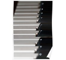 Old Yamaha Organ Keybaord Poster