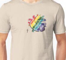 Peaceful heart Unisex T-Shirt