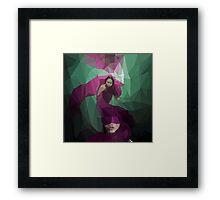 Smokescreen - Vector Graphic Framed Print