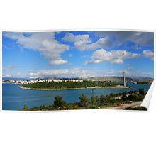 Chalkida,Evia island Poster