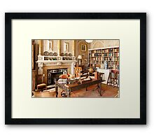 Scotney Castle: The Library Framed Print