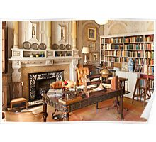 Scotney Castle: The Library Poster