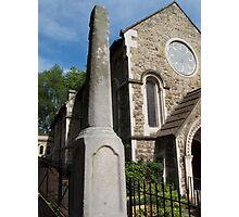 St Pancras Old Church, London Photographic Print