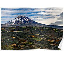 Volcano. Pico de Orizaba Poster