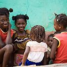 Rural Girls, Ile de la Gonave by morealtitude