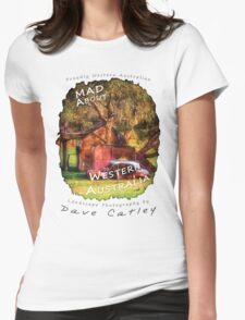 Dave Catley Landscape Photographer - Fine Art T-Shirt (Wanneroo Cottage) Womens Fitted T-Shirt