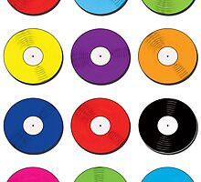 Record Spots Lrg by mellodesigns