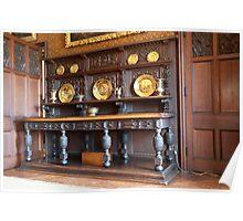 Sideboard, Dining Room: Scotney Castle.  Poster