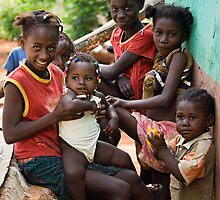Kids on Ile de la Gonave, Haiti by morealtitude