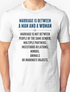 Marriage In America T-Shirt