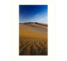 Patterns in the Wind, Death Valley Art Print