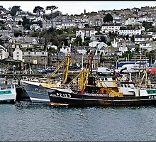 """ Old Newlyn"" by Malcolm Chant"
