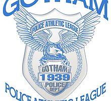 Batman - Gotham Police Athletic League by G. Patrick Colvin