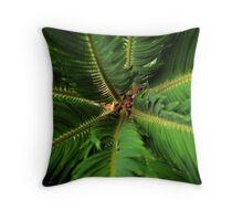 Palm Depths Throw Pillow