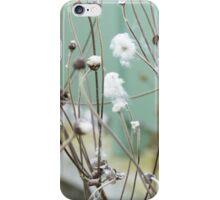 Cotton plant iPhone Case/Skin