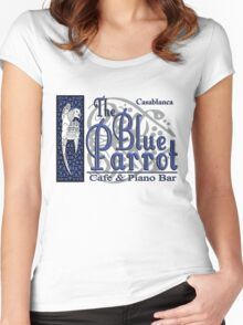 Casablanca - The Blue Parrot Women's Fitted Scoop T-Shirt