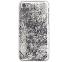 Series Nightmare #4 - Oh my...! - Monotype iPhone Case/Skin