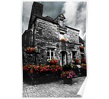 Old House in Rochefort-en-Terre, Brittany, France Poster