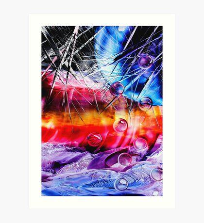 Transcend 3 with a bit of 4b Art Print