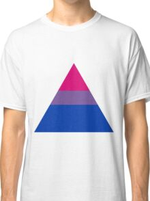 Bisexual triangle flag Classic T-Shirt