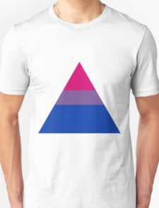 Bisexual triangle flag T-Shirt