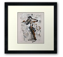 Fiddle Dee Dee Framed Print