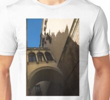 Barcelona's Marvelous Architecture - Shapes and Shadows Unisex T-Shirt