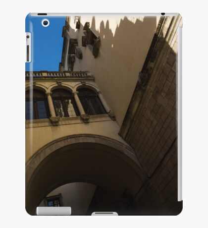 Barcelona's Marvelous Architecture - Shapes and Shadows iPad Case/Skin