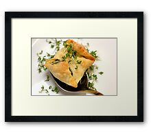 Vegetarian Fingerfood Framed Print