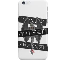 Dragon, Friend, Brother iPhone Case/Skin