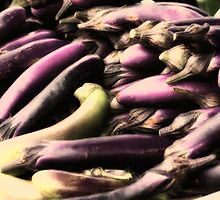Eggplant by Annee Olden