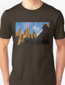 Barcelona's Marvelous Architecture - Cathedral of the Holy Cross and Saint Eulalia T-Shirt