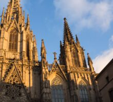 Barcelona's Marvelous Architecture - Cathedral of the Holy Cross and Saint Eulalia Sticker