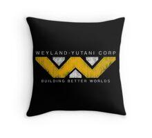 Weyland Yutani - Grunge Throw Pillow