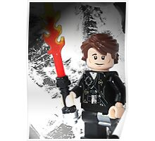 """Lego """"How to train your Dragon"""" - Hiccup Poster"""