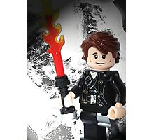 """Lego """"How to train your Dragon"""" - Hiccup Photographic Print"""